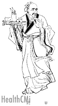 Master Hua Tou is depicted in this Qin Dynasty drawing.