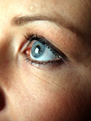 Eye twitches are treated with acupuncture.