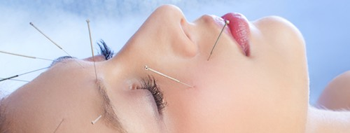 Qing Dai and acupuncture help to clear the skin from acne.