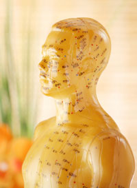 Acupuncture reduces angina.
