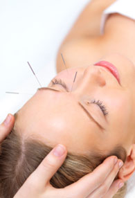 Acupuncture is used for fibromyalgia syndrome pain treatment.