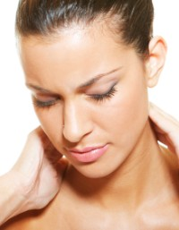 Acupuncture benefits the neck and stops dizziness.